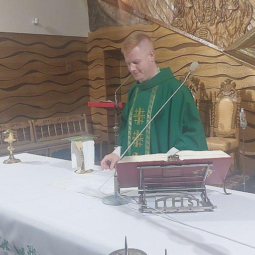 Powitanie nowych kapłanów